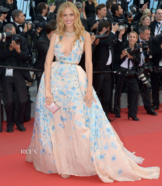 CANNES, FRANCE - MAY 19:  Petra Nemcova attends the Premiere of